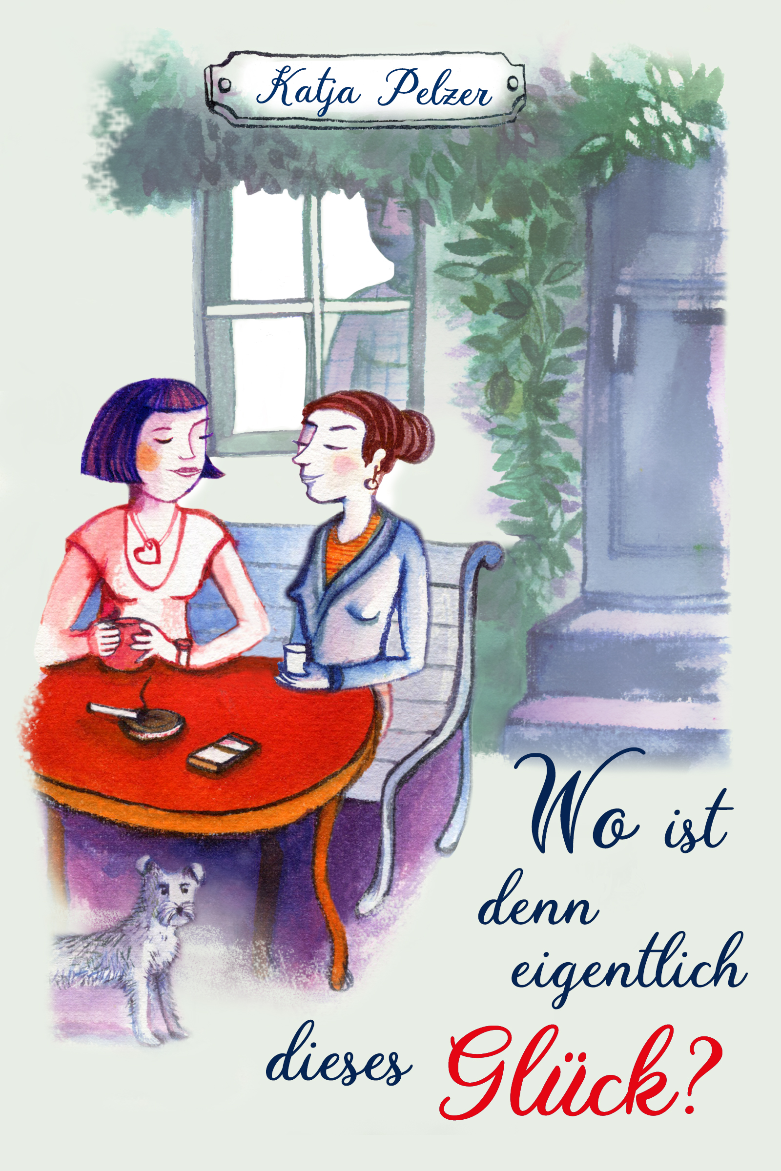 Buchcover/Woistdenneigentlichdiesesglück/Rothbild